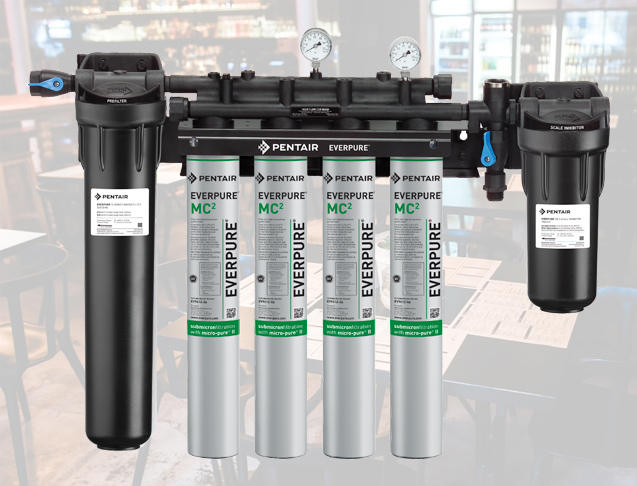 Pentair water filtration system